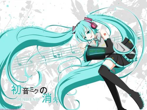 Vocaloid, Miku Hatsune Wallpaper