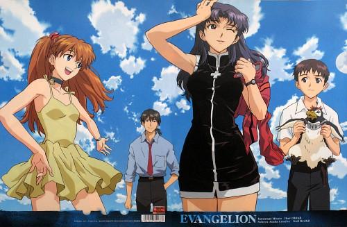 Yoshiyuki Sadamoto, Gainax, Neon Genesis Evangelion, Misato Katsuragi, Shinji Ikari