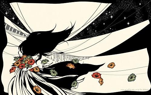 Kaori Wakamatsu, Vector Art Wallpaper