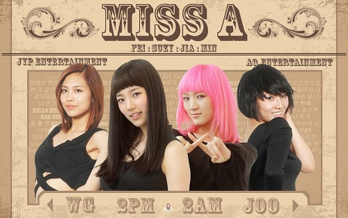 Miss A, Official Wallpaper