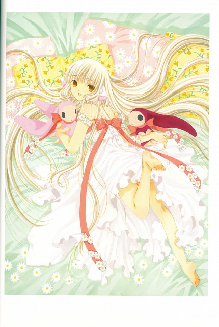 CLAMP, Chobits, The Art Of Clamp Memories, Atashi, Chii