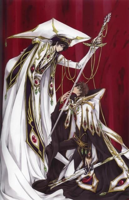 Takahiro Kimura, CLAMP, Sunrise (Studio), Lelouch of the Rebellion, Mutuality: Clamp Works in Code Geass