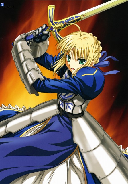 TYPE-MOON, Studio DEEN, Fate/Stay Night Visual Collection, Fate/stay night, Saber