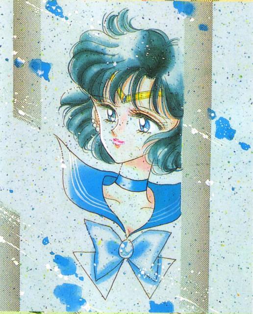 Naoko Takeuchi, Bishoujo Senshi Sailor Moon, BSSM Original Picture Collection Vol. V, Sailor Mercury