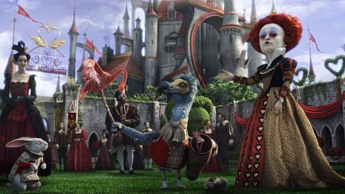 Alice In Wonderland (2010 Film), White Rabbit, Red Queen