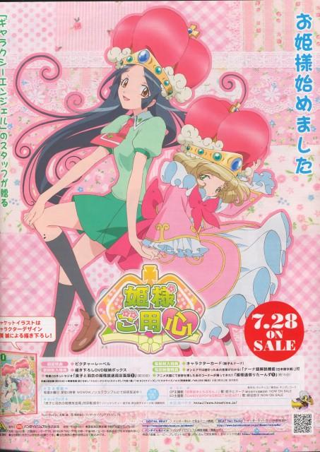 Studio Nomad, Hime-sama Goyojin, Himeko Tsubaki, Nana (Hime-sama Goyojin), Newtype Magazine