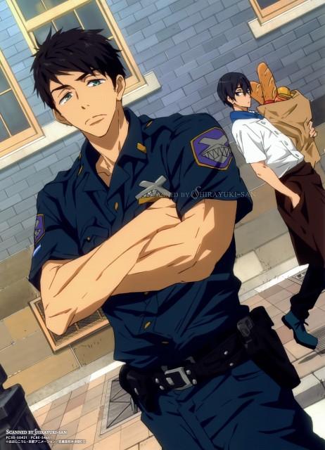 Futoshi Nishiya, Kyoto Animation, Free!, Haruka Nanase (Free!), Sousuke Yamazaki