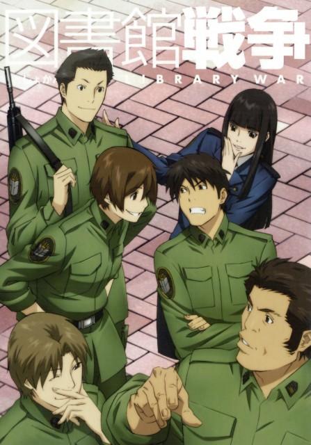 Sukumo Adabana, Production I.G, Toshokan Sensou, Hikaru Tezuka, Atsushi Dojo