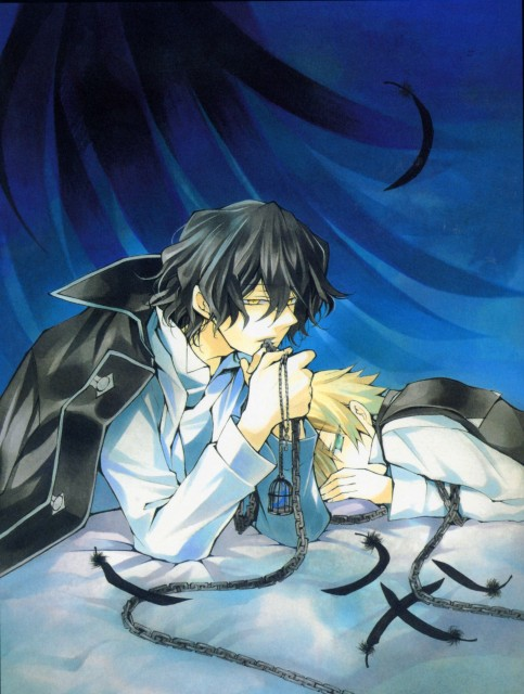 Jun Mochizuki, Pandora Hearts, Pandora Hearts ~odds and ends~, Oz Vessalius, Gilbert Nightray