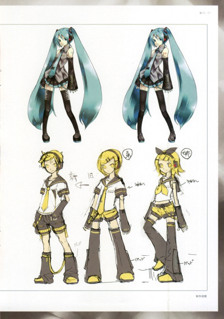 KEI, Vocaloids Unofficial Illustrations, Vocaloid, Rin Kagamine, Len Kagamine