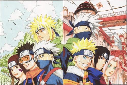 Masashi Kishimoto, Naruto, Uzumaki (Artbook), Naruto Uzumaki, Minato Namikaze