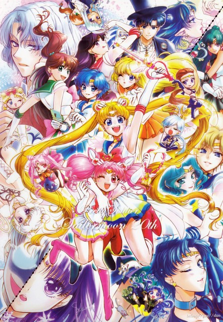 Fukukan, Bishoujo Senshi Sailor Moon, Sailor Uranus, Artemis, Sailor Jupiter