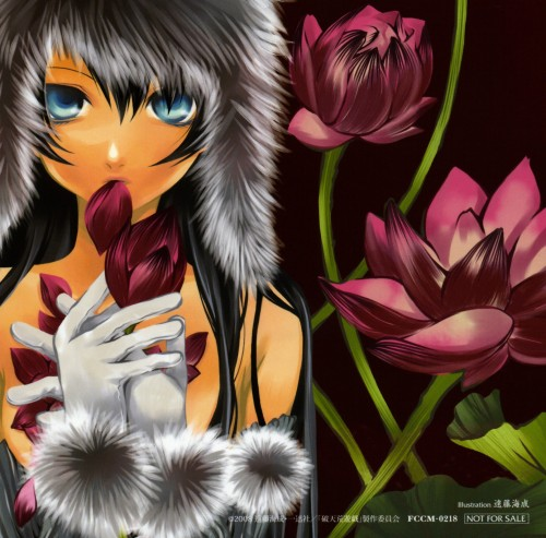 Minari Endou, Hatenkou Yuugi, Rahzel Anadis, Album Cover