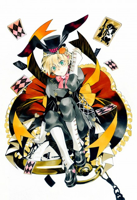 Jun Mochizuki, Pandora Hearts, Pandora Hearts ~odds and ends~, Oz Vessalius