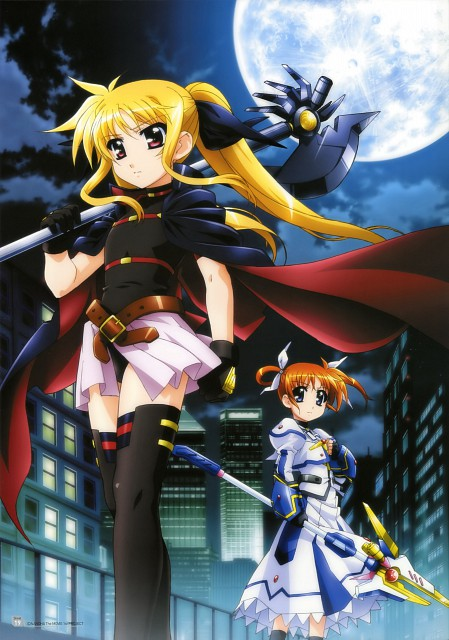 Takayoshi Hashimoto, Seven Arcs, Mahou Shoujo Lyrical Nanoha, MSLN The Movie 1st Visual Collection 1, Fate Testarossa