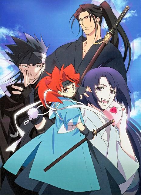Nanae Chrono, Gonzo, Peacemaker Kurogane, Toshizou Hijikata (Peacemaker Kurogane), Susumu Yamazaki