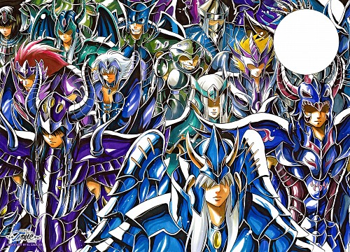 Shiori Teshirogi, TMS Entertainment, Saint Seiya, Saint Seiya: The Lost Canvas, Garuda Aiacos