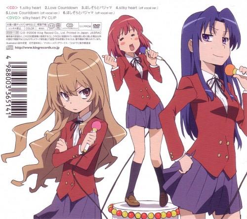 Toradora!, Ami Kawashima, Minori Kushieda, Taiga Aisaka, Album Cover