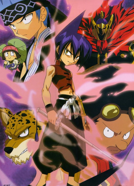 Hiroyuki Takei, Xebec, Shaman King, Kororo, Ren Tao