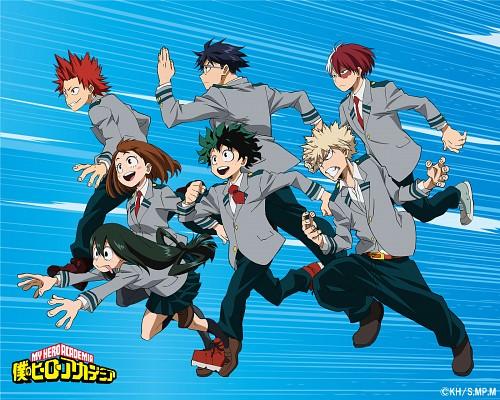 Kouhei Horikoshi, BONES, Boku no Hero Academia, Tsuyu Asui, Izuku Midoriya