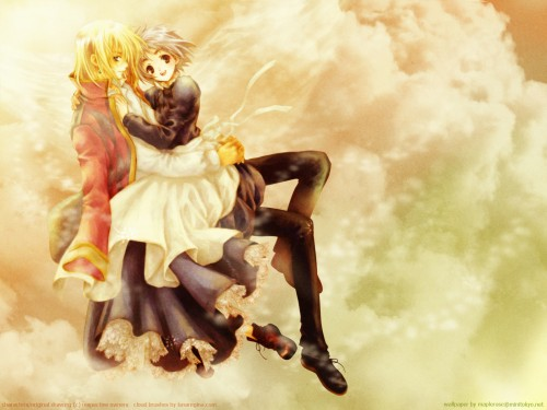 Adumi Tohru, Howl's Moving Castle, Sophie Hatter, Howl Jenkins Wallpaper