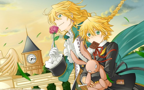 Jun Mochizuki, Xebec, Pandora Hearts, Jack Vessalius, Oz Vessalius Wallpaper