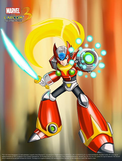 Capcom, Marvel vs Capcom 3, Zero (MegaMan)