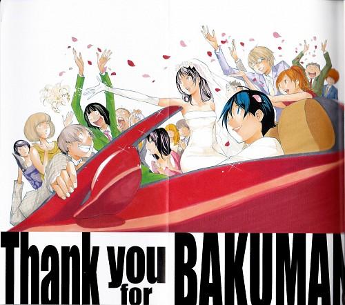 Takeshi Obata, Bakuman, Eiji Niizuma, Miho Azuki, Moritaka Mashiro