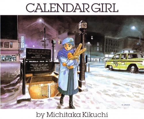 Michitaka Kikuchi, Calendar Girl 1991