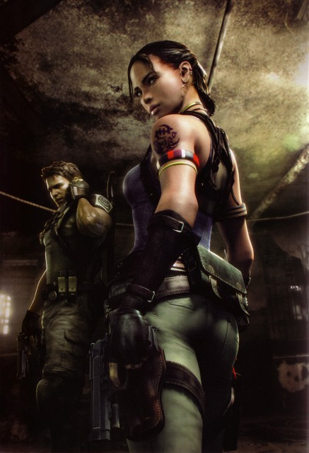 Capcom, Resident Evil 5, Chris Redfield, Sheva Alomar