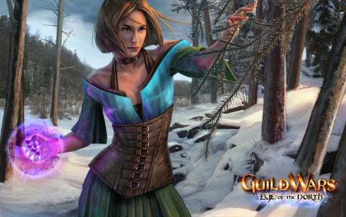Guild Wars, Official Wallpaper, Magic