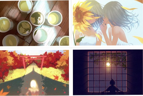 VOFAN, Shaft (Studio), Bakemonogatari, Koyomimonogatari Full Color Postcard Set, Karen Araragi