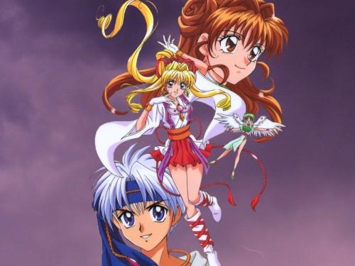 Arina Tanemura, Kamikaze Kaitou Jeanne, Maron Kusakabe, Kaitou Sinbad, Kaitou Jeanne Wallpaper