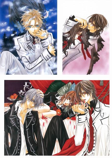 Matsuri Hino, Vampire Knight, Hino Matsuri Illustrations: Vampire Knight, Yuuki Cross, Kaname Kuran