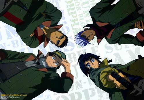Sunrise (Studio), Mobile Suit Gundam: Iron-Blooded Orphans, Akihiro Altland, Biscuit Griffon, Mikazuki Augus
