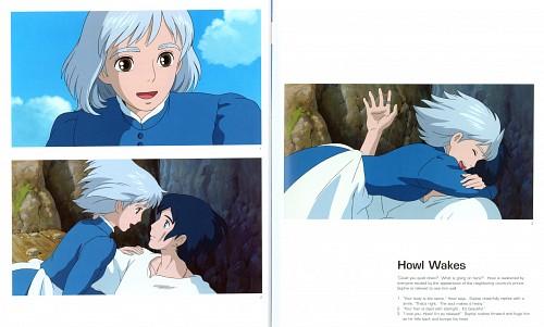 Studio Ghibli, Howl's Moving Castle, The Art of Howl's Moving Castle, Sophie Hatter, Howl Jenkins