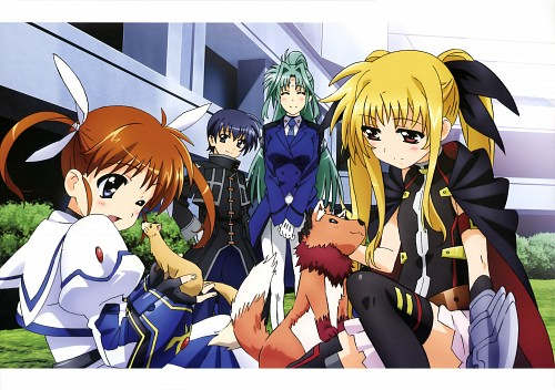 Seven Arcs, Mahou Shoujo Lyrical Nanoha, MSLN The Movie 2nd A's Visual Collection Second, Alph, Yuuno Scrya