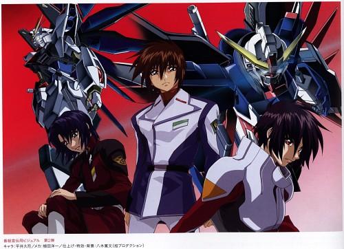 Hisashi Hirai, Sunrise (Studio), Mobile Suit Gundam SEED Destiny, Shinn Asuka, Kira Yamato