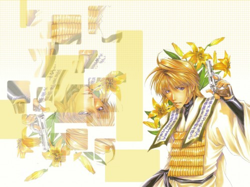 Kazuya Minekura, Studio Pierrot, Saiyuki, Genjyo Sanzo Wallpaper