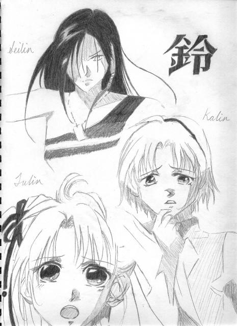 Narumi Kakinouchi, Shaolin Sisters, Julin Misumi, Seilin Misumi, Kalin Misumi