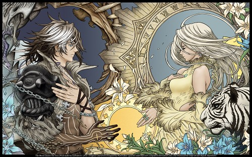 Mistwalker, The Last Story, Calista, Zael, Member Art Wallpaper
