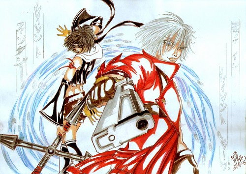 Devil May Cry, Yuffie Kisaragi, Dante, Member Art
