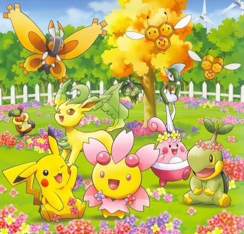 OLM Digital Inc, Nintendo, Pokémon, Combee, Mothim