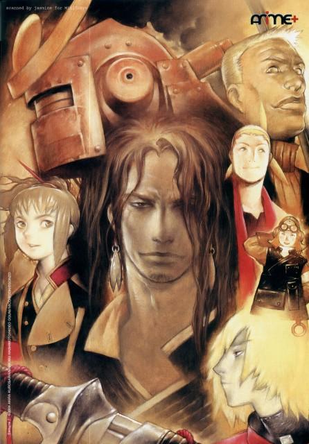 Gonzo, Samurai 7, Kikuchiyo, Heihachi Hayashida, Kyuzo