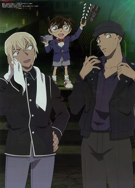Gosho Aoyama, TMS Entertainment, Detective Conan, Conan Edogawa, Tooru Amuro