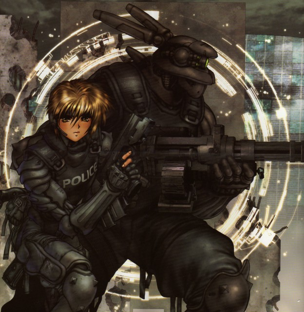 Masamune Shirow, Appleseed, Briareos Hecatonchires, Deunan Knute