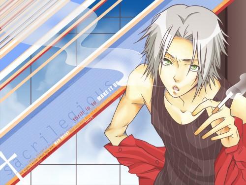 Akira Amano, Artland, Katekyo Hitman Reborn!, Hayato Gokudera, Vector Art Wallpaper