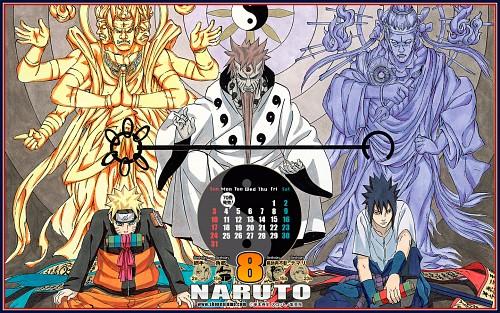 Masashi Kishimoto, Naruto, Naruto Uzumaki, Sasuke Uchiha, Official Wallpaper