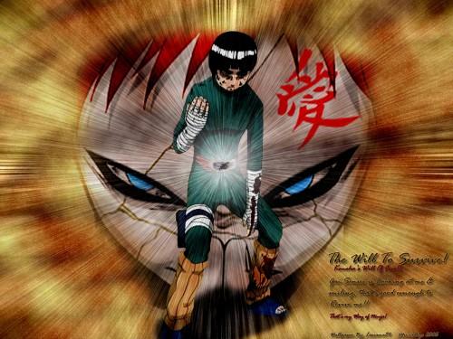 Masashi Kishimoto, Studio Pierrot, Naruto, Rock Lee, Gaara Wallpaper