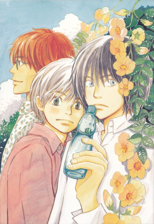 Chika Umino, Honey and Clover, Shinobu Morita, Yuuta Takemoto, Takumi Mayama